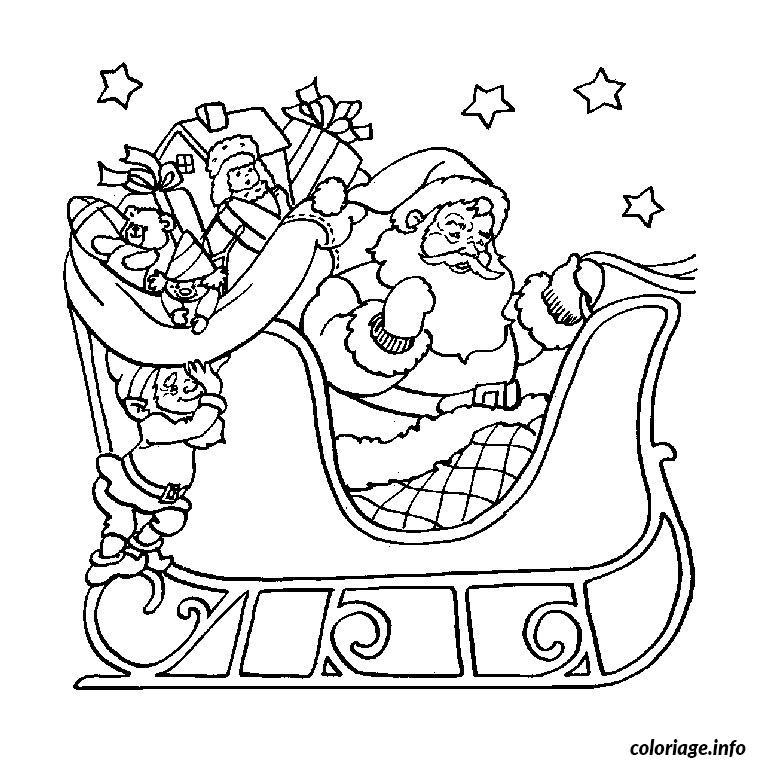 Coloriage Noel Gratuit En Ligne Dessin