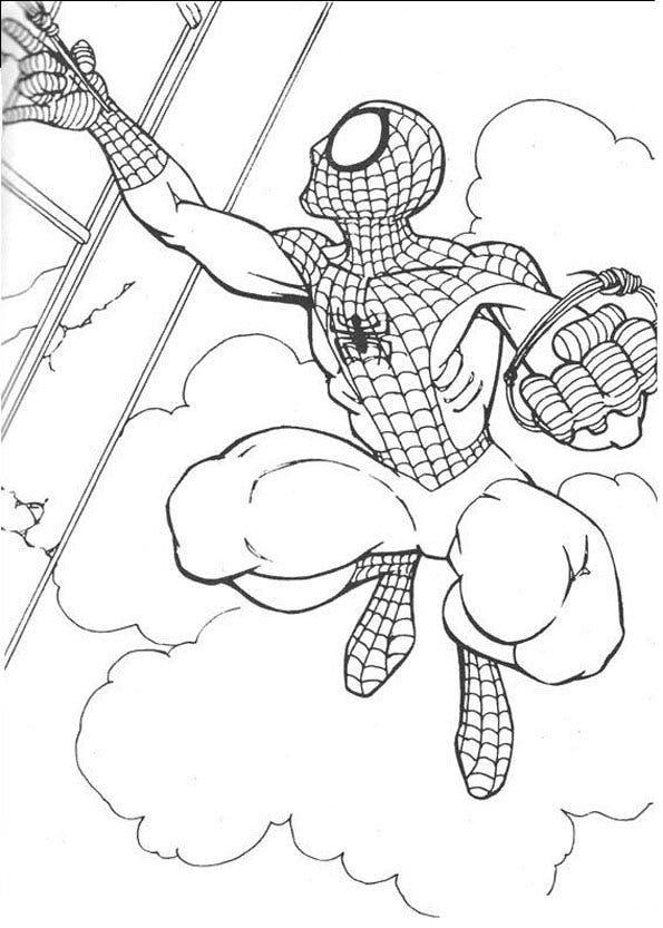 Top47 Spiderman Coloriage Images Lesgenissesdanslmais
