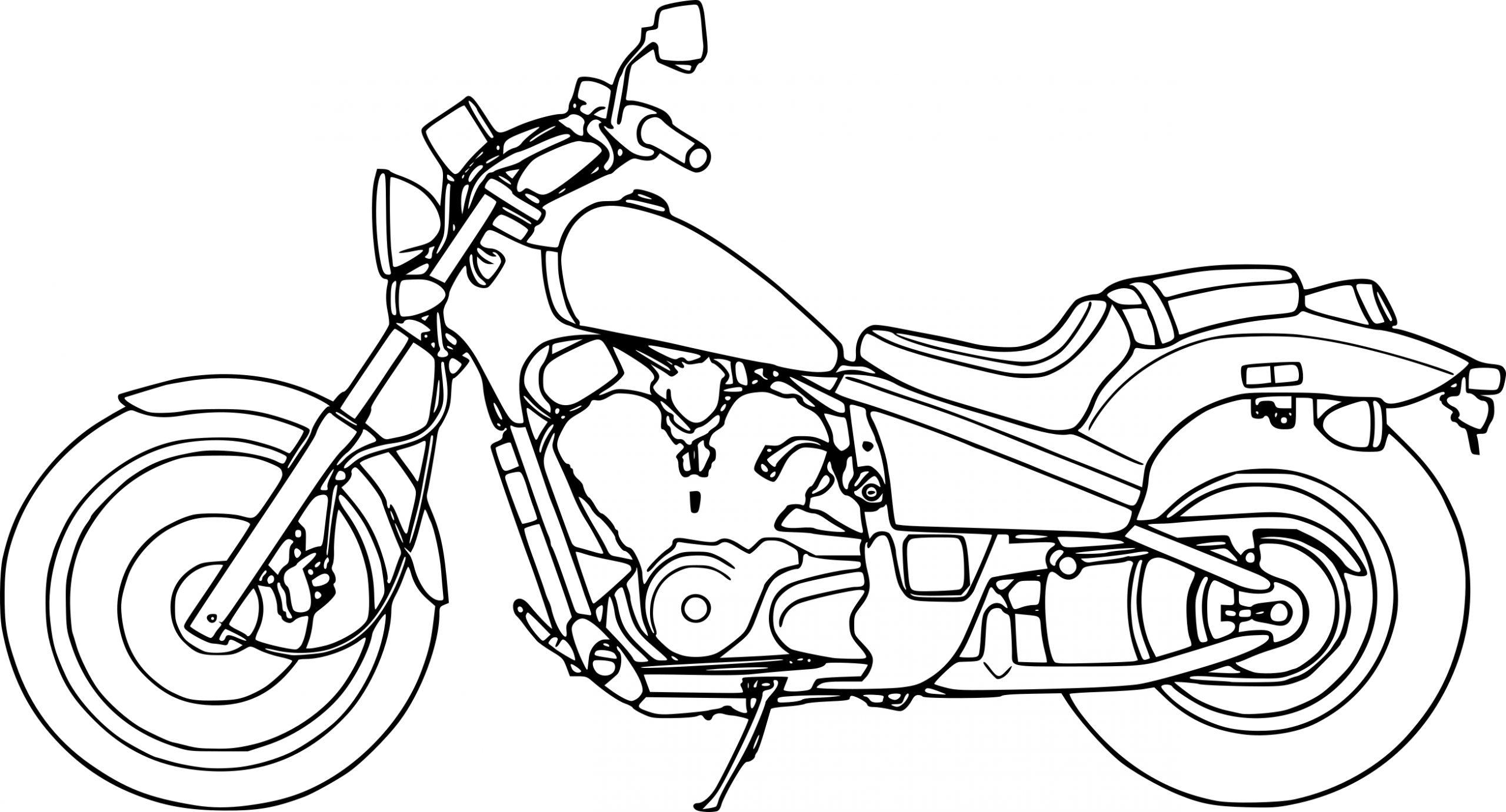 Top17 Coloriage Moto Dessin Lesgenissesdanslmais