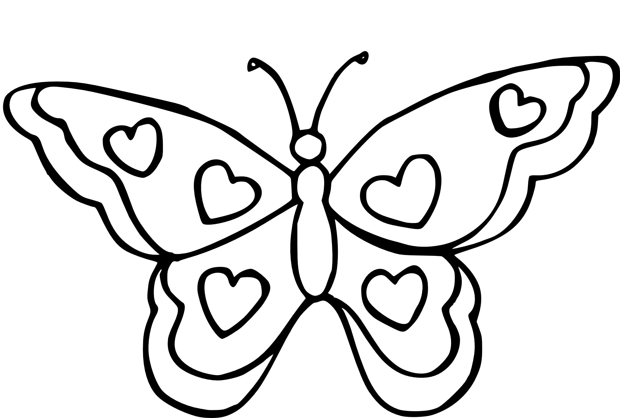 Top25 Papillon Coloriage Images Lesgenissesdanslmais