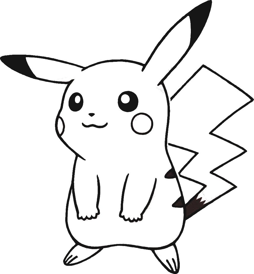Telecharger Dessins Arts Divers Coloriage Pokemon Pikachu Gratuitement