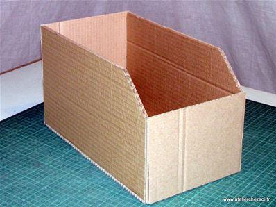 Tuto Casiers De Rangement En Carton Fiche Creative Diy