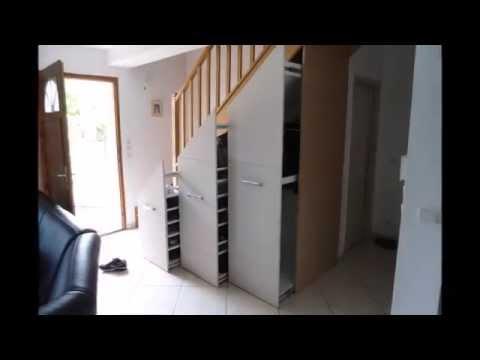 Meubles Sous Escaliers Youtube