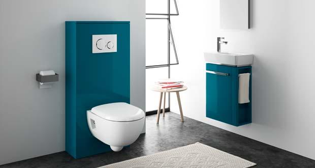 Lineo 2 D Allia Habiller Le Bati Support Du Wc Et Ranger Les Toilettes